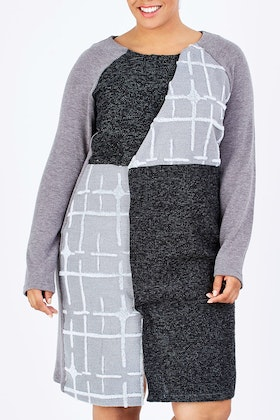 Boo Radley Winter Contrast Dress