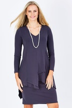 bird keepers The Sliced Layer Dress