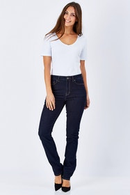 The Bianca High Rise Slim Straight
