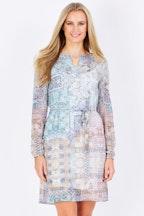 Smash Clematis Dress