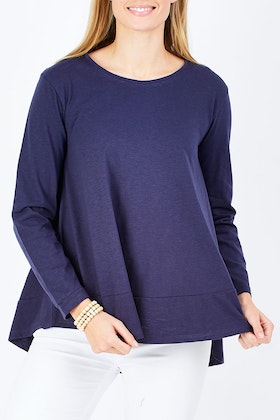 bird keepers The Long Sleeve Swing Tee