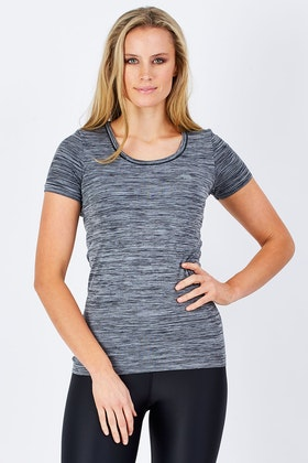 Running Bare Forever Keep Me Dry Seamless Tee