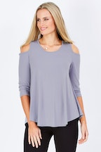 bird keepers The Cut Out Shoulder Top