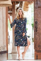 boho bird Spring Fling Shift Dress