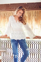 boho bird New Romantics Tunic