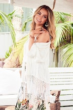 boho bird Crazy About You Kimono