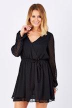 Sass Amalia Dobby Flutter Dress