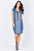 boho bird Adore Me Denim Dress