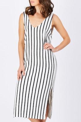 Nude Lucy Oakland Stripe Dress