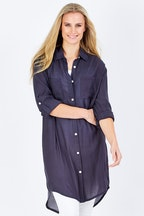 bird keepers The Textured Shirt Dress