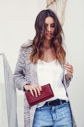 Stitch and Hide Chloe Leather Wallet