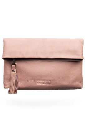 Stitch and Hide Lily Leather Clutch
