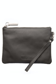 Cassie Leather Clutch Bag