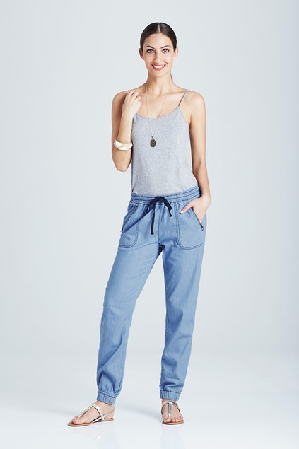 072d890dd bird keepers The Chambray Pant - Womens Pants - Birdsnest Online Store