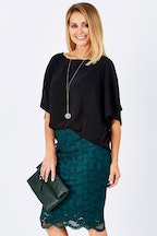 bird by design The Lace Tube Skirt