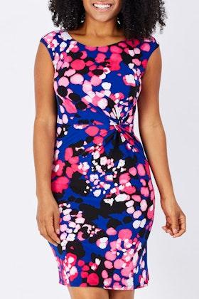 Rebecca Ruby Amber Floral Dress