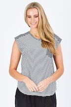 bird keepers The Stripe Pocket Tank