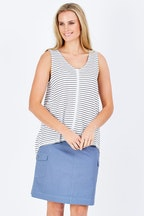bird keepers The Ribbon Jersey Tank