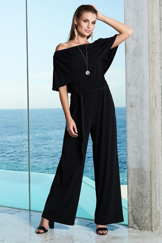 Women's Clothing Generous Warehouse Tailored Floral Jumpsuit Size 12