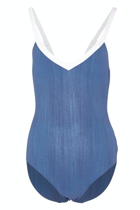 Seafolly Block Party Sweetheart Maillot