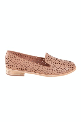 Django & Juliette Anson Leather Flat