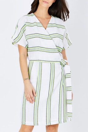 Solito Dawn Wrap Dress