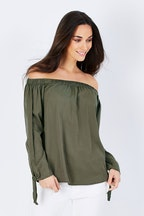 Only Arizona Off The Shoulder Top