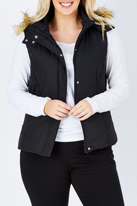 bird keepers The Hooded Puffer Vest