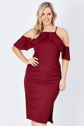 3rd Love Ailey Ruffle Dress