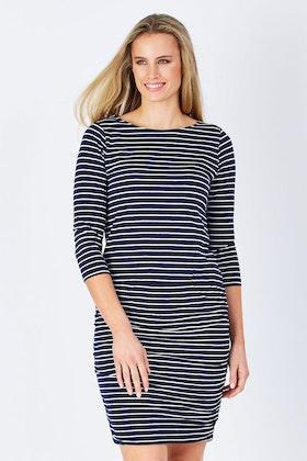 Hatley Gathered Stripe Dress