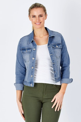 Wakee Jeans Harley Denim Jacket