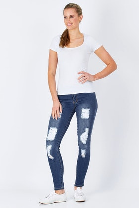 Wakee Jeans Jennifer Skinny