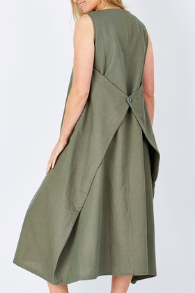 Natural for birds Natural Folded Dress