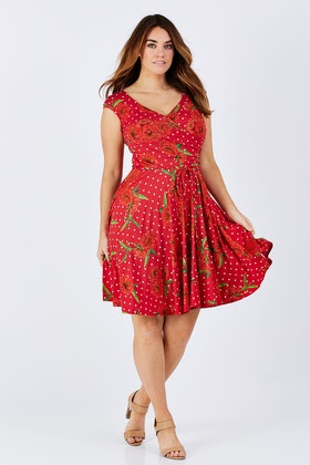 Maiocchi My Lips Are Sealed Dress