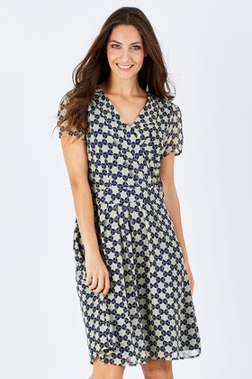 that bird label Finch Cap Sleeve Dress Primrose