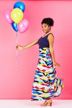 that bird label Rosie Maxi Skirt Festiva