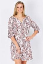 JAG Valentina Long Sleeve Dress