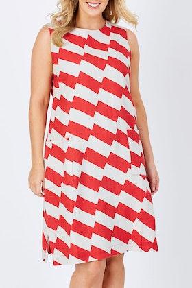 FOIL Fully Booked Linen Dress