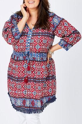Kalypso Flossie Tie Dress