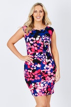 Rebecca Ruby Amber Floral Dress