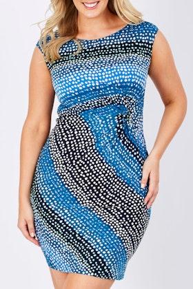 Rebecca Ruby Sally Spot Dress