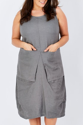 See Saw Sleeveless 2 Pocket Dress