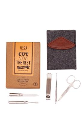 Wild & Wolf Gentlemen's Hardware Cut Above Manicure Set
