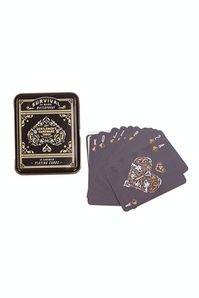 Wild & Wolf Gentlemen's Hardware Survival Playing Cards