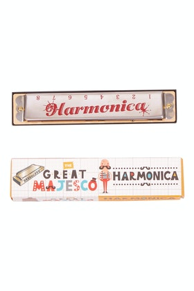 Outliving The Great Majesco Harmonica