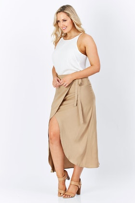Carousel Lifestyle Wrap Skirt