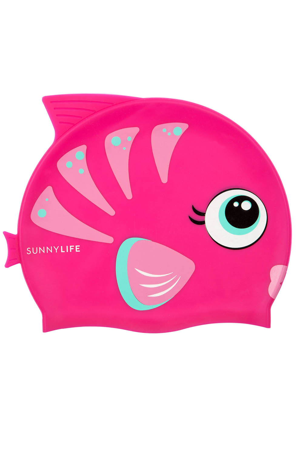 SunnyLIFE Girls Shaped Swimming Cap 3-9 Unicorn White One Size