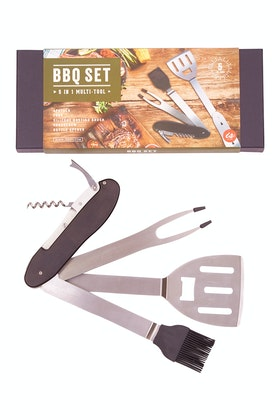 IS Gifts 5 In 1 Bbq Boxed Tool Set