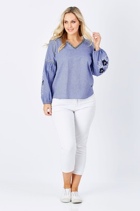 Wite Sailaway Blouse