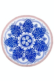 Printed Round Towel